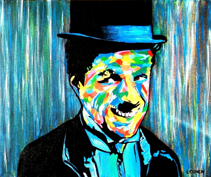 Charlie Chaplin by LIONEL.COHEN